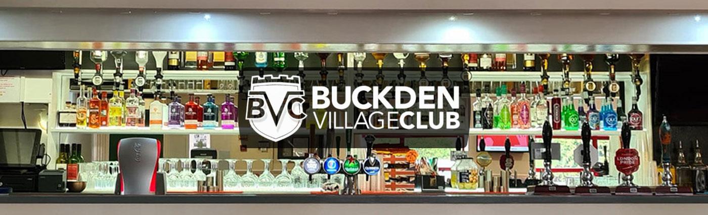 Buckden Village Club bar homepage photo
